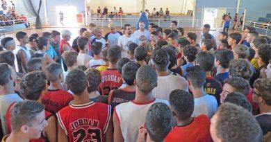 Basquete de Cravinhos realiza 'Peneira' com aproximadamente 350 atletas