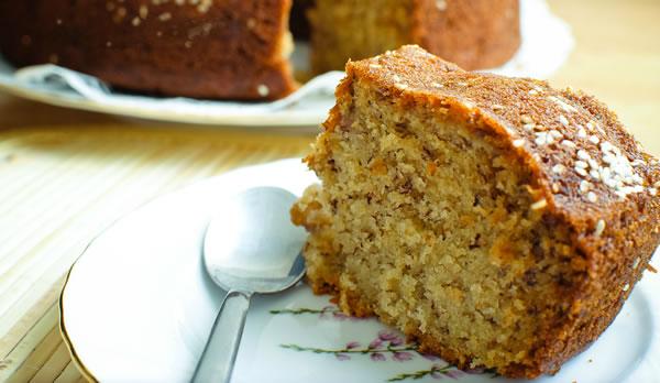 Receita de Bolo de Quinoa, Amaranto e Vegetais