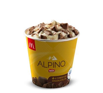 McDonald's lança McShake Alpino e McFlurry Alpino com Leite Moça!