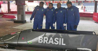 Bobsled do Brasil estreia no 4-man