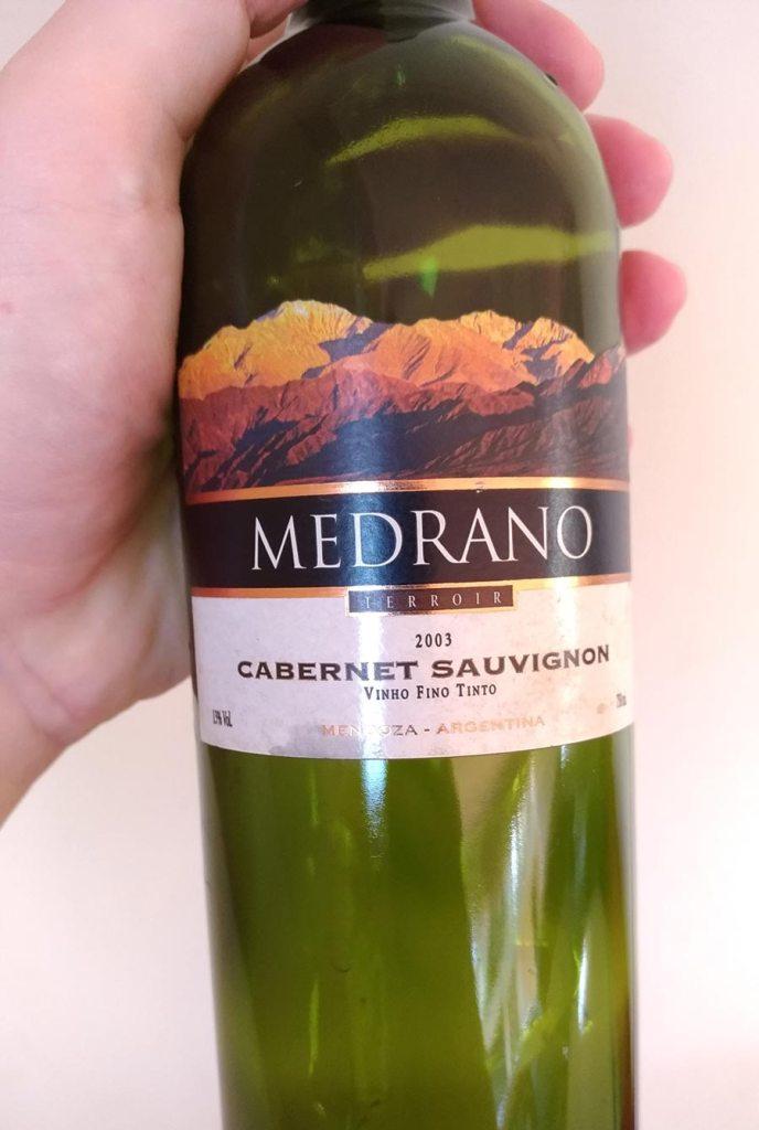 vinho medrano cabernet sauvignon 2003