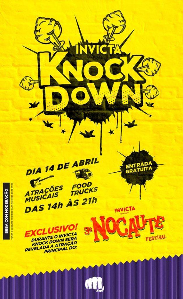 Cervejaria Invicta vai revelar atração principal do Nocaute Festival