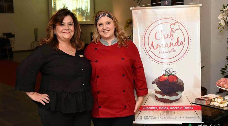 Chef Amanda Pessarello participa de Feira de Noivas e Debutantes
