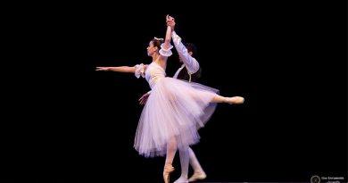 Escola de balé faz apresentação em Noite de Gala