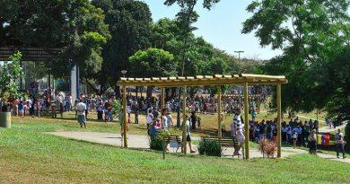 Parque Tom Jobim é revitalizado e reaberto à população