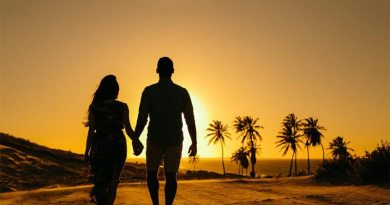 O amor nasceu na praia!