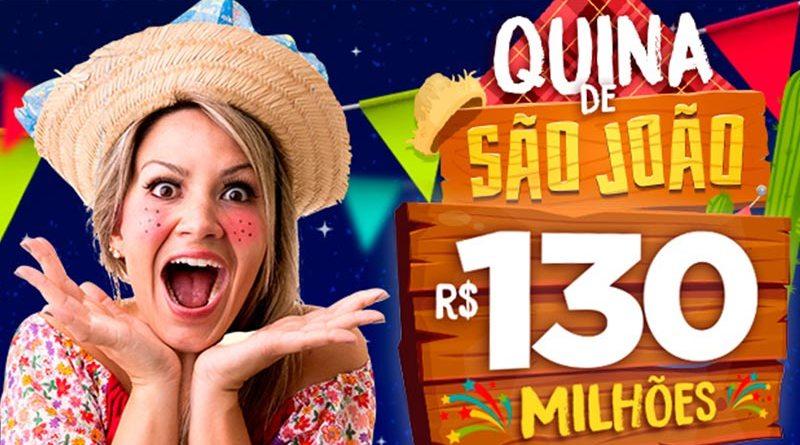 Quina de São João pagará R$ 130 milhões neste sábado (23)