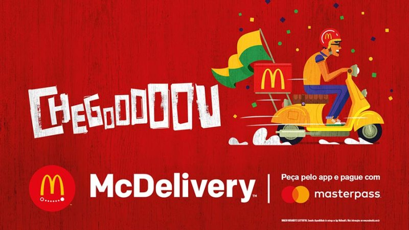 Mais restaurantes contarão com o McDelivery