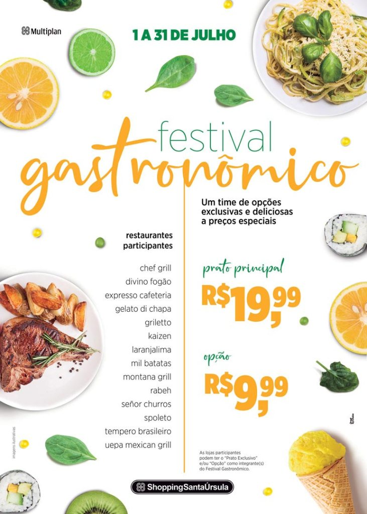 Shopping Santa Úrsula realiza Festival Gastronômico de Inverno