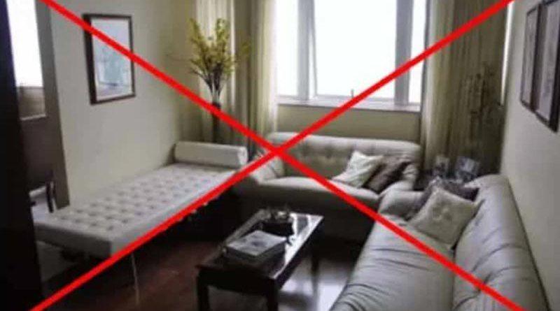 Erros comuns na decoração