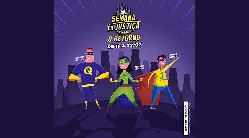 Cervejaria Invicta realiza mais uma edição da Semana da Justiça