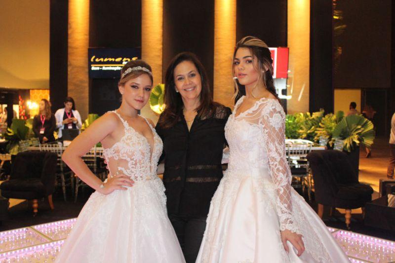 Salão de beleza produz modelos para desfiles na Expo Noivas 2018