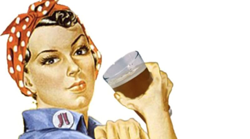 Cerveja pra mulher
