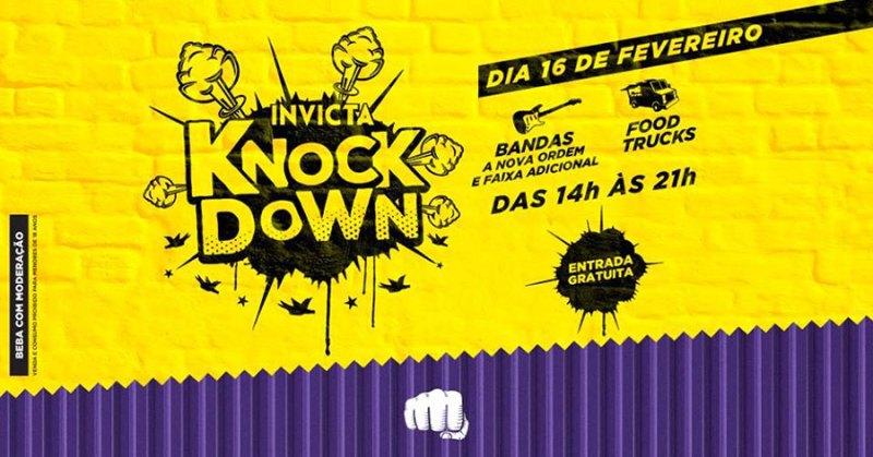 Cervejaria Invicta realiza primeiro Knock Down do ano