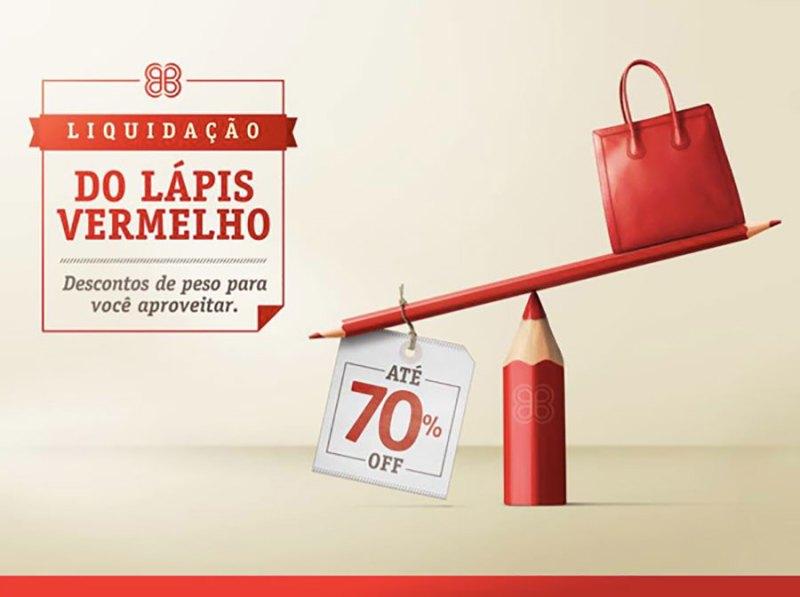 RibeirãoShopping e ShoppingSantaÚrsula promovem a Liquidação do Lápis Vermelho