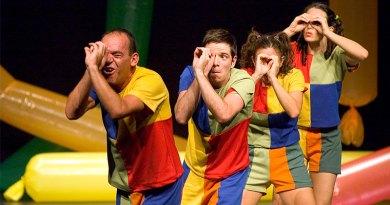 Espetáculo infantil Brincos & Folias será apresentado no Sesc