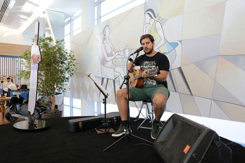 Café Du Chef oferece música ao vivo às quintas e aos sábados