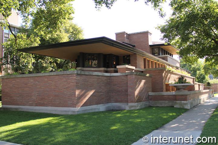 Frederick C Robie House Interunet