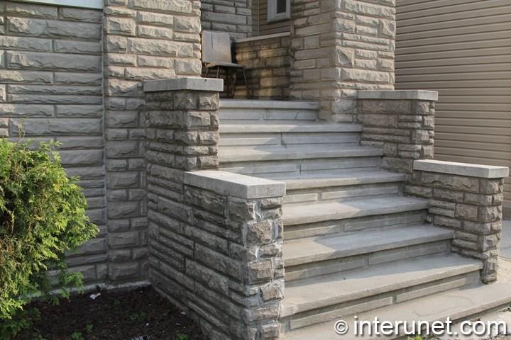 Porch Ideas Designs Styles Interunet | House Main Entrance Steps Design | Half Round | Landscape | Outside | Garden | Front Construction Area House