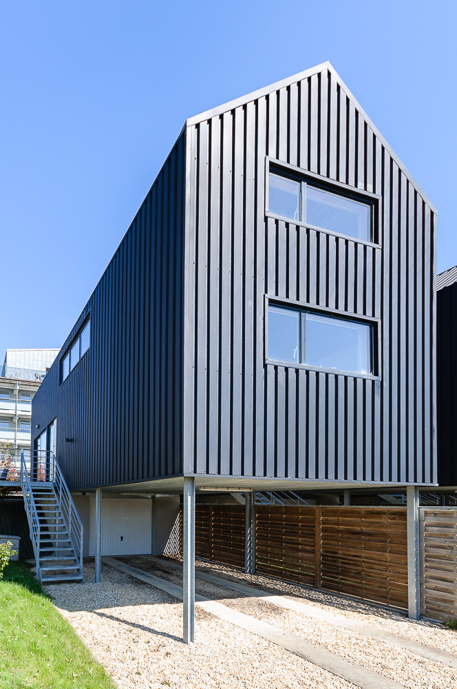 photographe d'architecture ©INTERVALphoto : Eric Lenoir Architecte, maisons individuelles, zac les rives du blosne, chantepie (35)