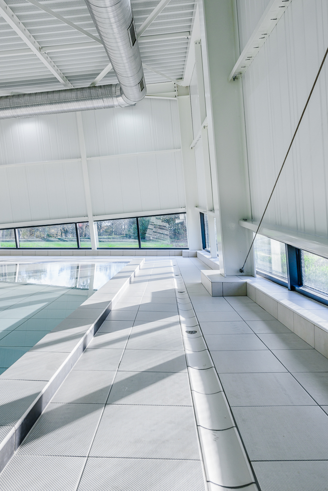 photographe d'architecture ©INTERVALphoto : LAB, extension piscine Grand Champ (56)