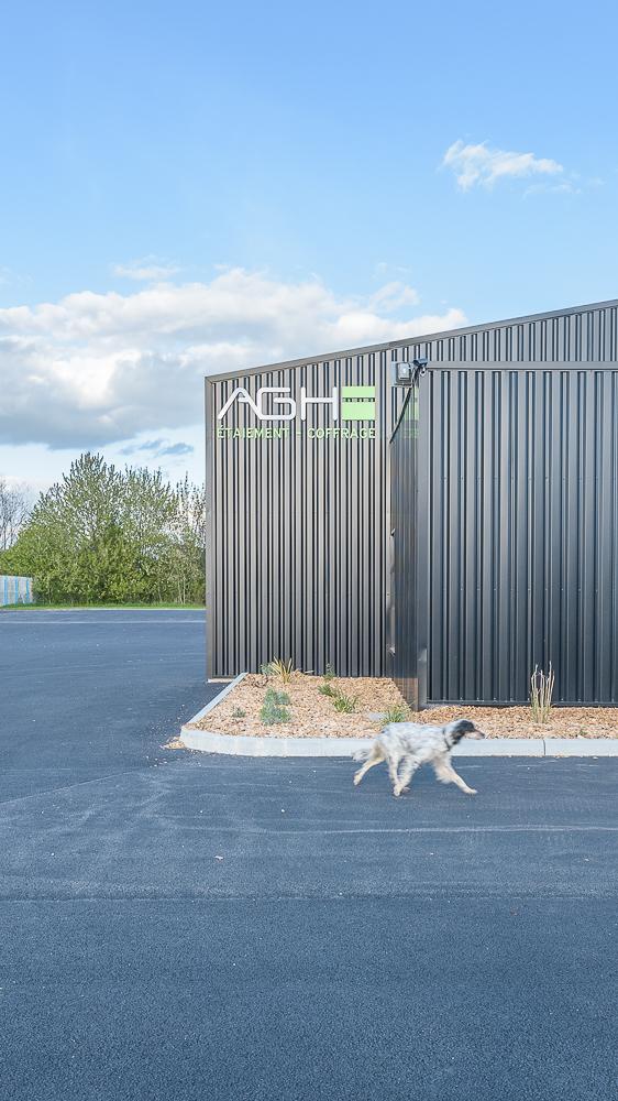 FAVRY Anne architecte, remaniement d'un atelier existant, Puceul (44)