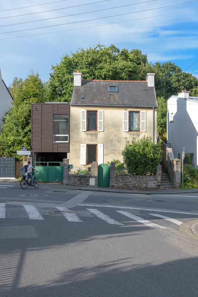 LAB, Projet réhabilitation, extension, Brest, coming soon... ©INTERVALphoto