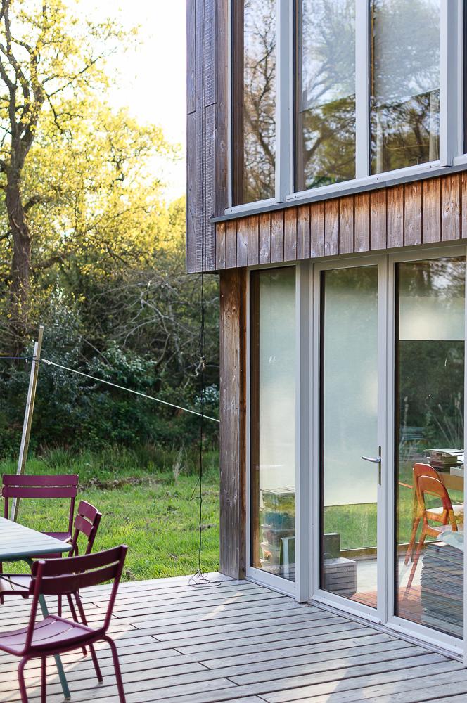 photographe d'architecture ©INTERVALphoto : AA41, Alexandre Favé architecte, maison-atelier, Crac'h, 56