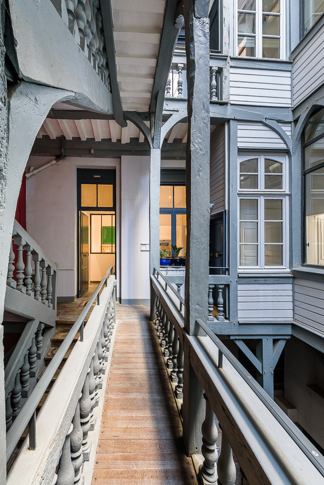 photographe d'industrie ©INTERVALphoto : Couasnon Launay architectes, appartement, rue Coetquen, Rennes, 35