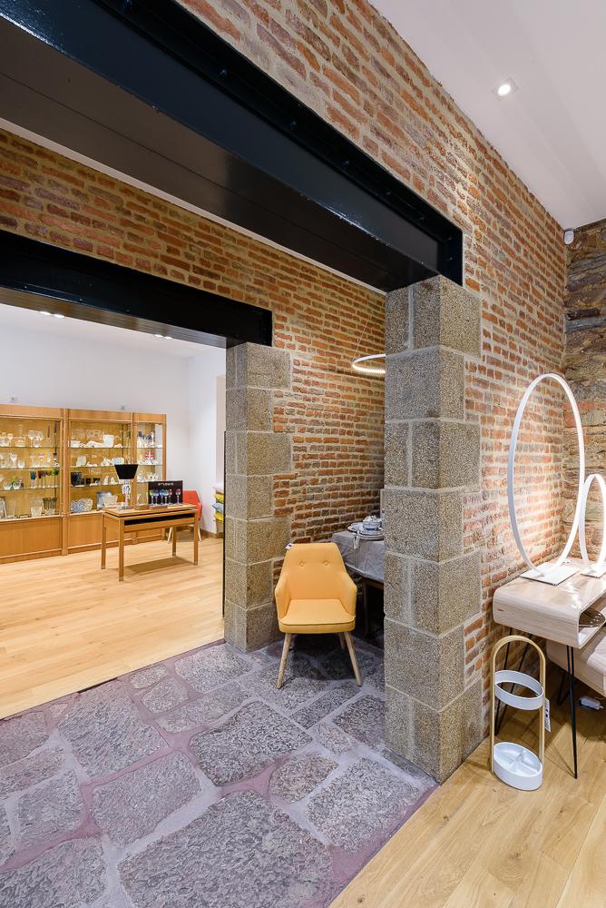 photographe d'architecture ©INTERVALphoto : Couasnon Launay architectes, boutique, maison Simon, Rennes, 35