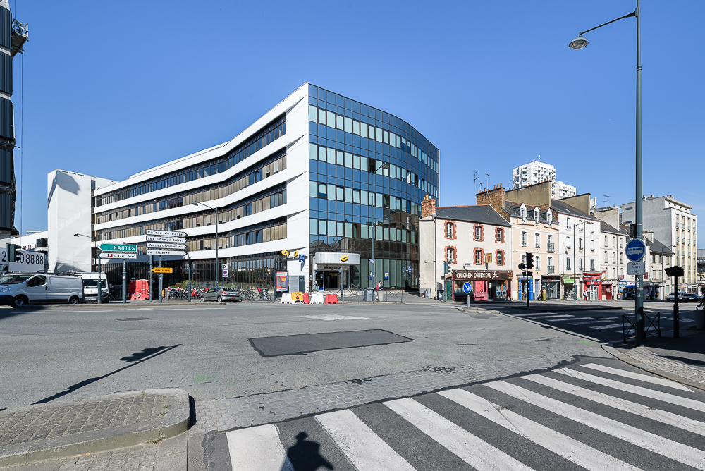 photographe d'architecture ©INTERVALphoto : Paul Bouet Architecte, restructuration La Poste Colombier, Rennes, 35