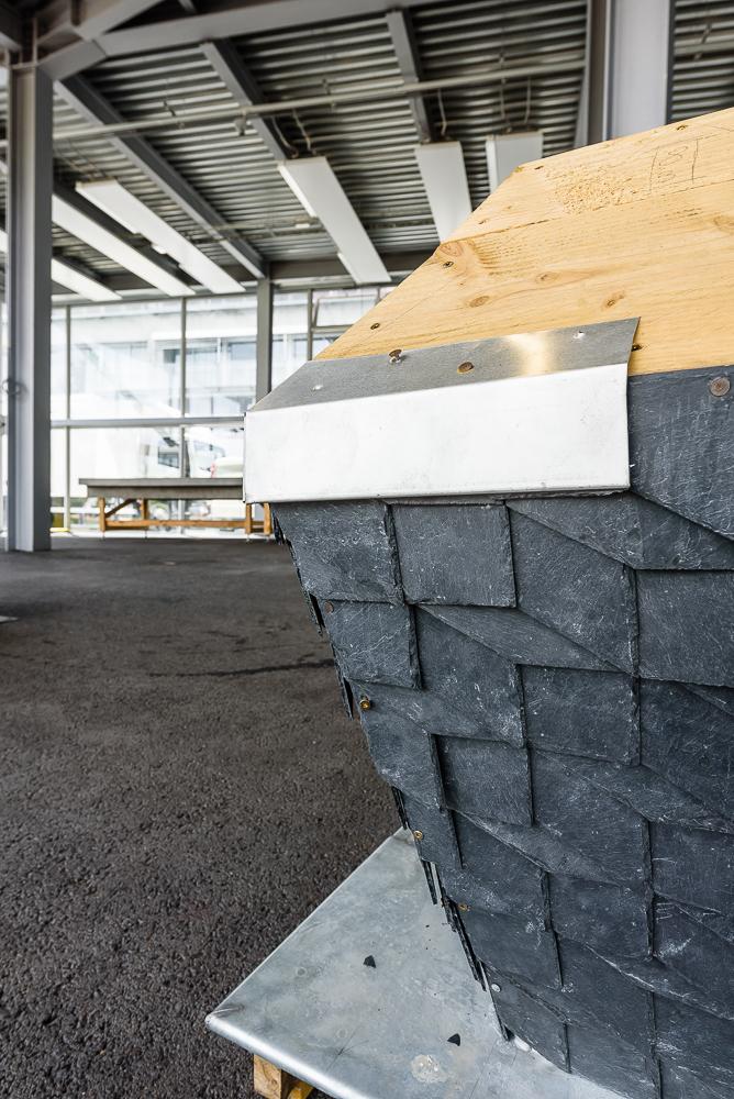 photographe d'architecture ©INTERVALphoto : CUPA PIZARRAS, concours « Les jeunes couvreurs inventent l'ardoise de demain ».