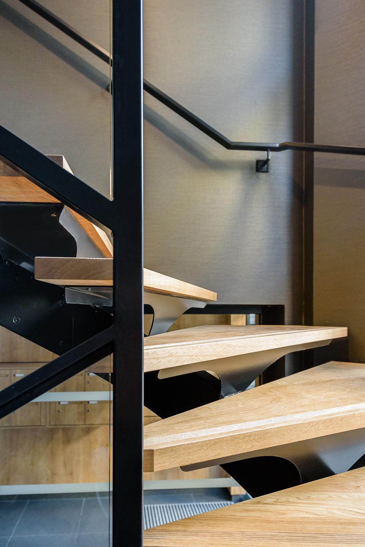 photographe d'architecture ©INTERVALphoto : gpe GIBOIRE, OCDL, Cabinet Loyer architecte, 3 bis rue des Carmes, Rennes(35)