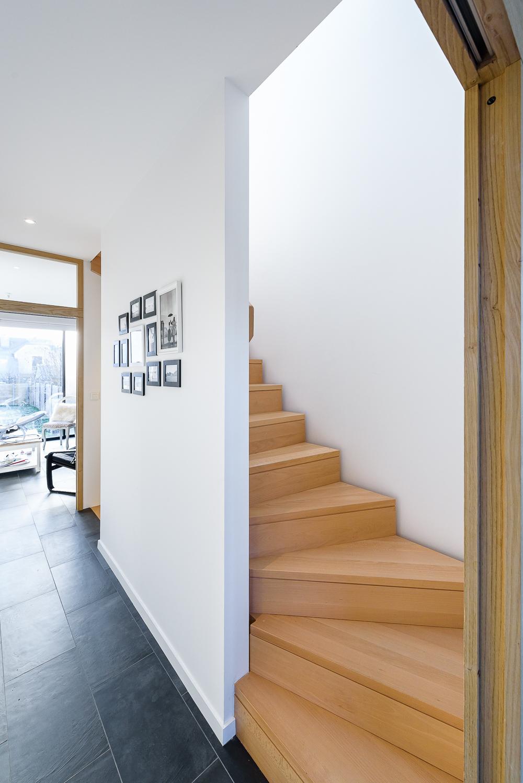 photographe d'architecture ©INTERVALphoto : Bodenez et Le Gal La Salle architectes, maison individuelle, Rennes (35)