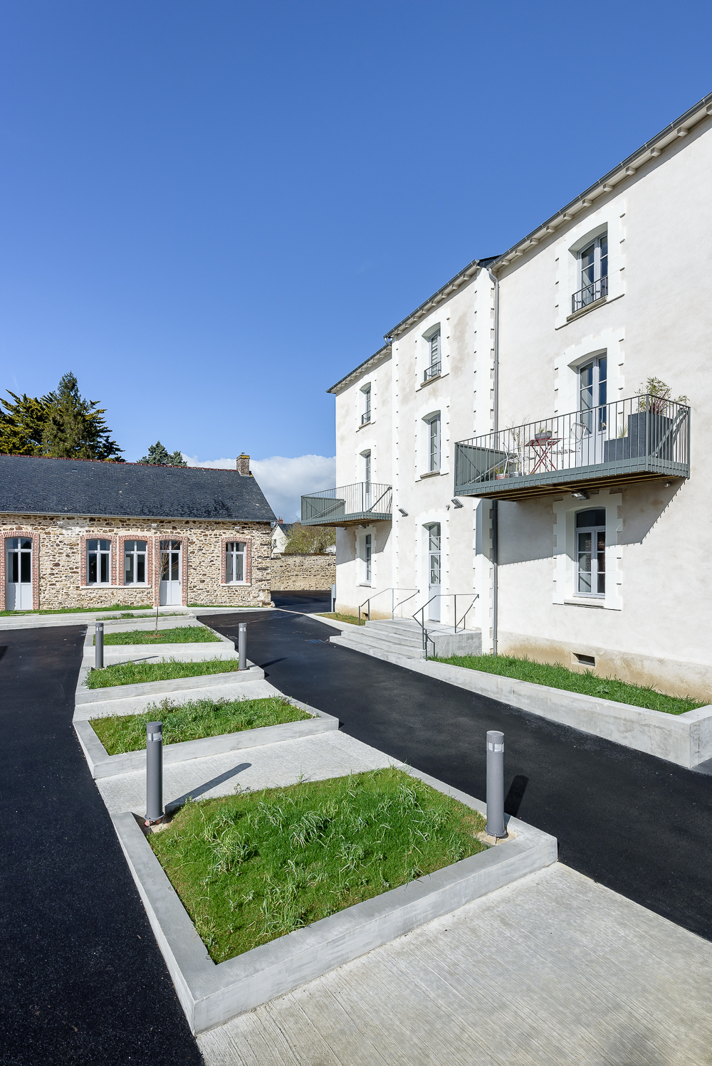cf.architecture, réhabilitation, logements, Bais (35)
