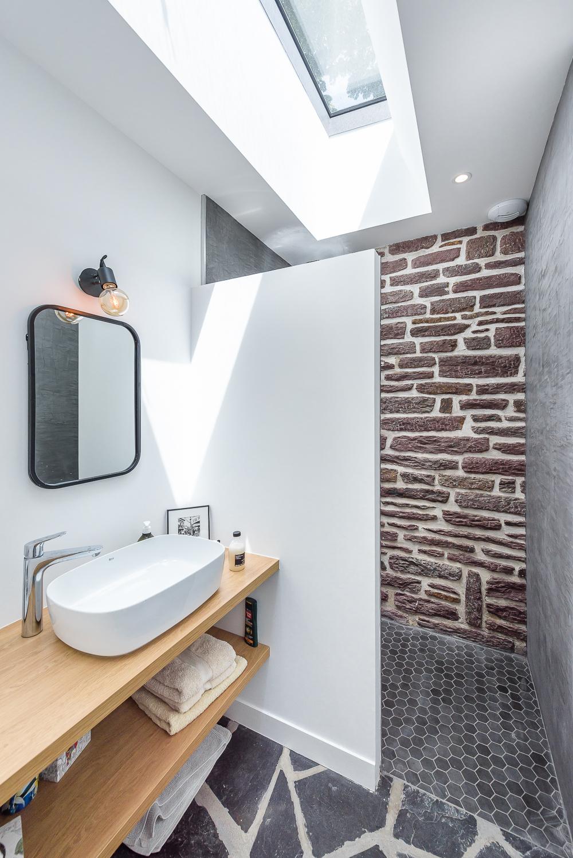 Briand & Renault Architectes, réhabilitation d'une Dépendance, maison individuelle, Rennes (35)