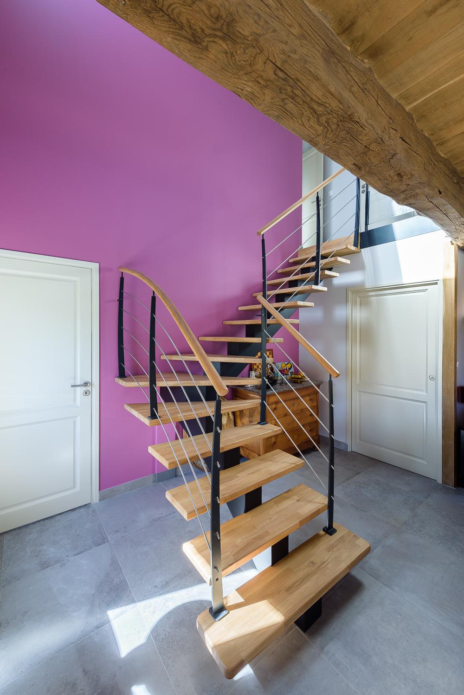 photographe d'architecture ©INTERVALphoto : Atelier ALP, Maison individuelle (terre / paille), Pacé (35)