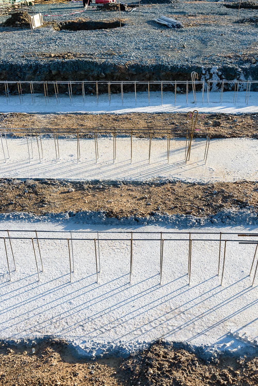 photographe d'architecture ©INTERVALphoto : Lycée Polyvalent, Région Pays de Loire, AIA architecte, Chantier, Nort sur Erdre (44)
