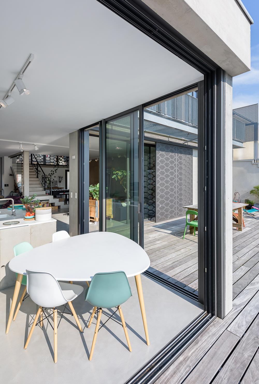photographe d'architecture ©INTERVALphoto : TANGUY, M. maison aux Volets, Rennes
