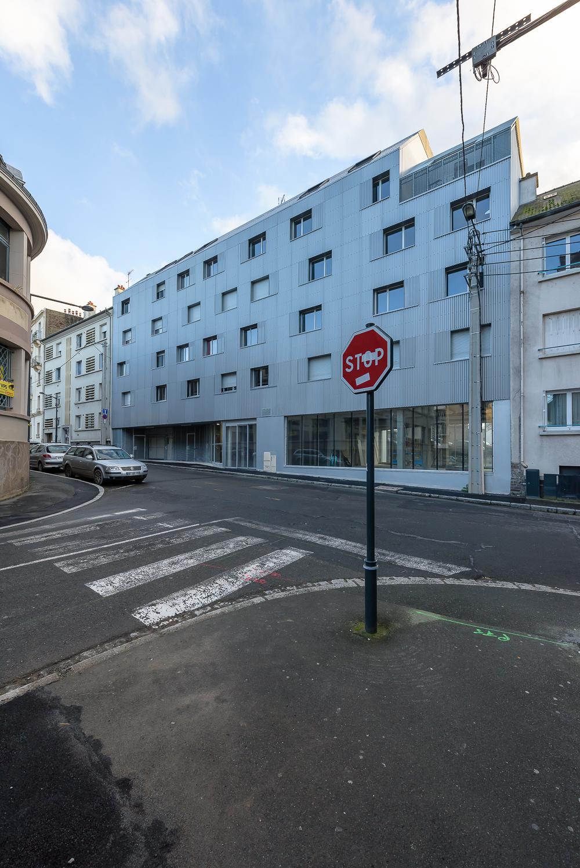 photographe d'architecture ©INTERVALphoto : 2A Design, Peroba, logements, Pixelys, Rennes, 35