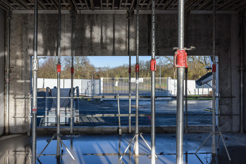 photographe d'architecture ©INTERVALphoto : Lycée Polyvalent, Région Pays de Loire, AIA architecte, Chantier, Nort sur Erdre (44) 3/22