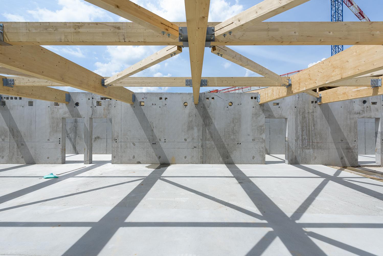 Lycée Polyvalent, Région Pays de Loire, AIA architecte, Chantier 07/22