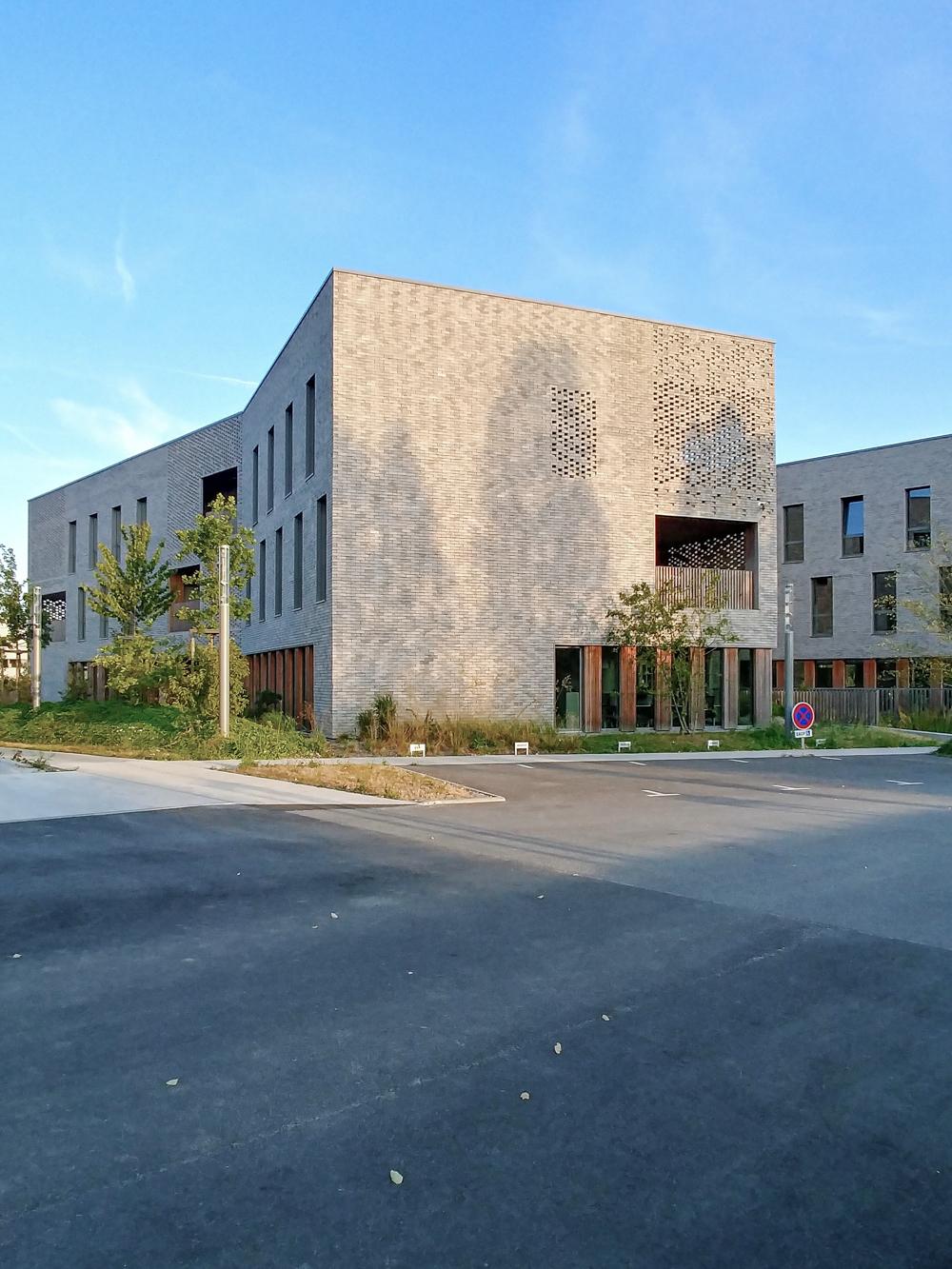 photographe d'architecture ©INTERVALphoto : forma6, immeubles tertiaires, Saint Herblain *déambulation (reportage express portable)
