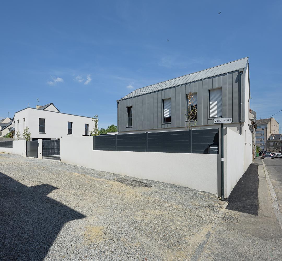photographe d'architecture ©INTERVALphoto : O2 concept Architecture, maisons individuelles, Rennes (35)