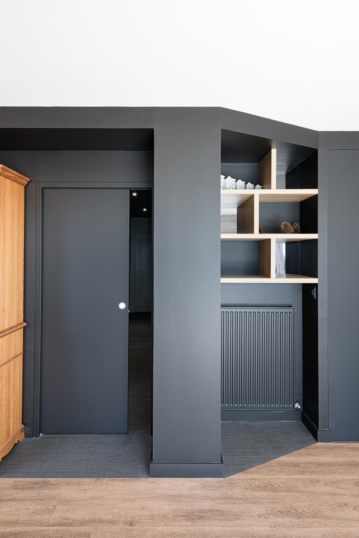 photographe d'architecture ©INTERVALphoto : SAAC architecte, aménagements intérieurs, rénovation maison individuelle, Châteaugiron(35)