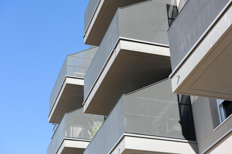 photographe d'architecture ©INTERVALphoto : PAA architecture, Logements, Le Clos Orrière, Vern sur Seiche (35)
