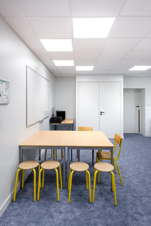 photographe d'architecture ©INTERVALphoto : Couasnon-Launay Architectes, extension école La Bouexière(35)