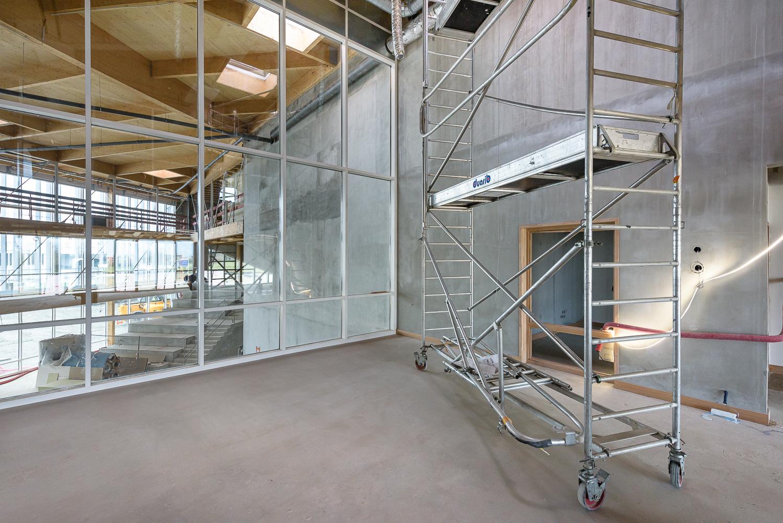 photographe d'architecture ©INTERVALphoto : Lycée Polyvalent, Région Pays de Loire, AIA architecte, Chantier, Nort sur Erdre (44) 16/22