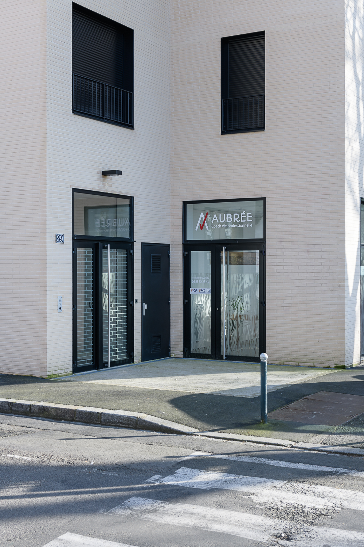 photographe d'architecture ©INTERVALphoto : Agence L²A, logements, Bv de Chézy, Rennes (35)
