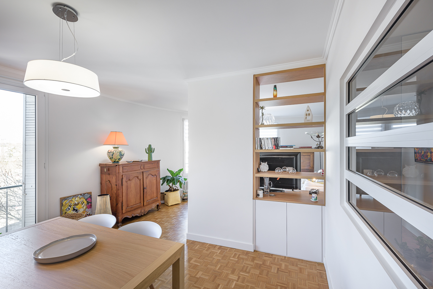photographe d'architecture ©INTERVALphoto : ROCHER T. architecte, appartement, Rennes (35)